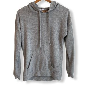 Super Soft Grey pullover Hoodie Size Small